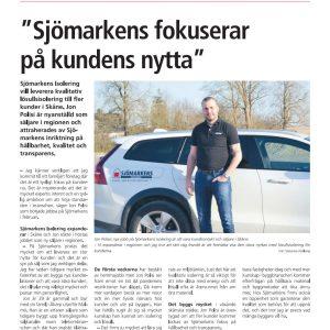"""""""Sjömarkens fokuserar på kundens nytta"""""""